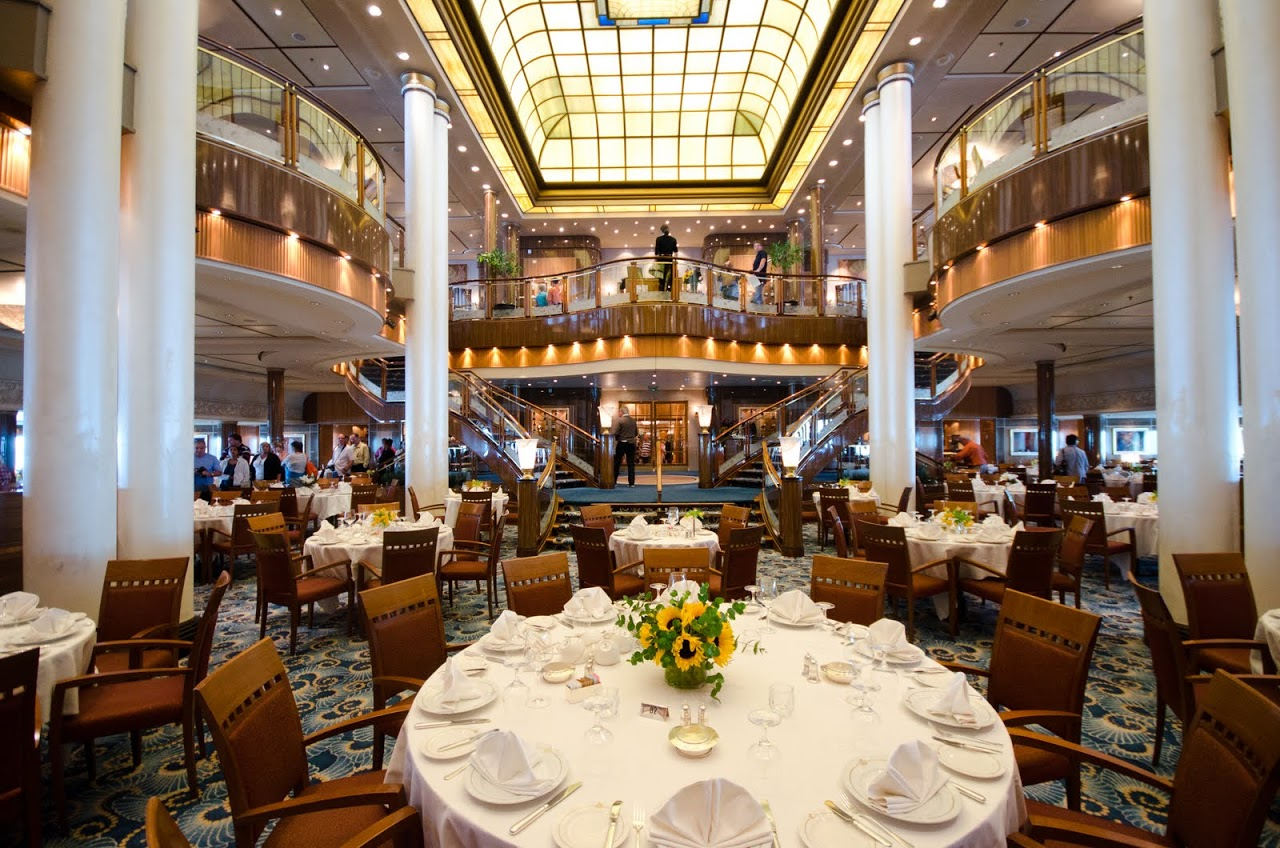 Queen Mary 2 Buffet Restaurant Latest, Queen Mary 2 Dining Room