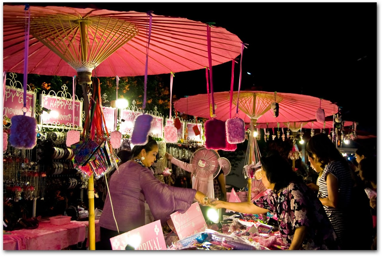 Lampang night market