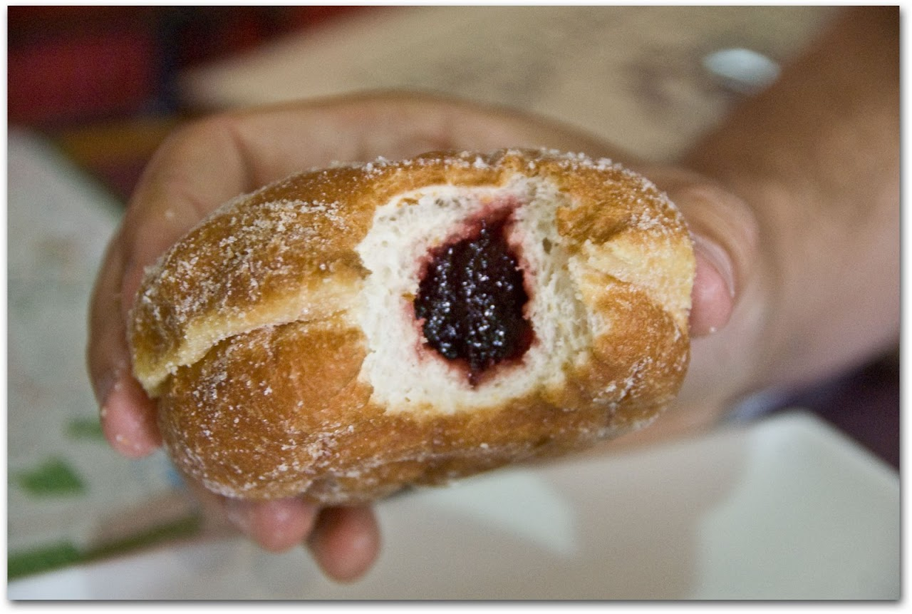 Jam doughnut Litchfield Bakery