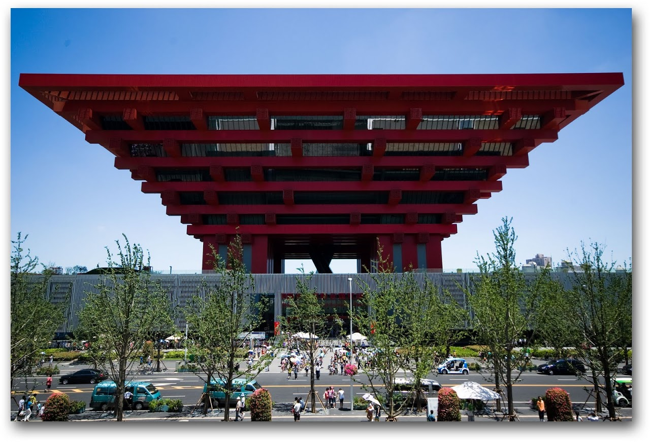 China pavilion World Expo 2010