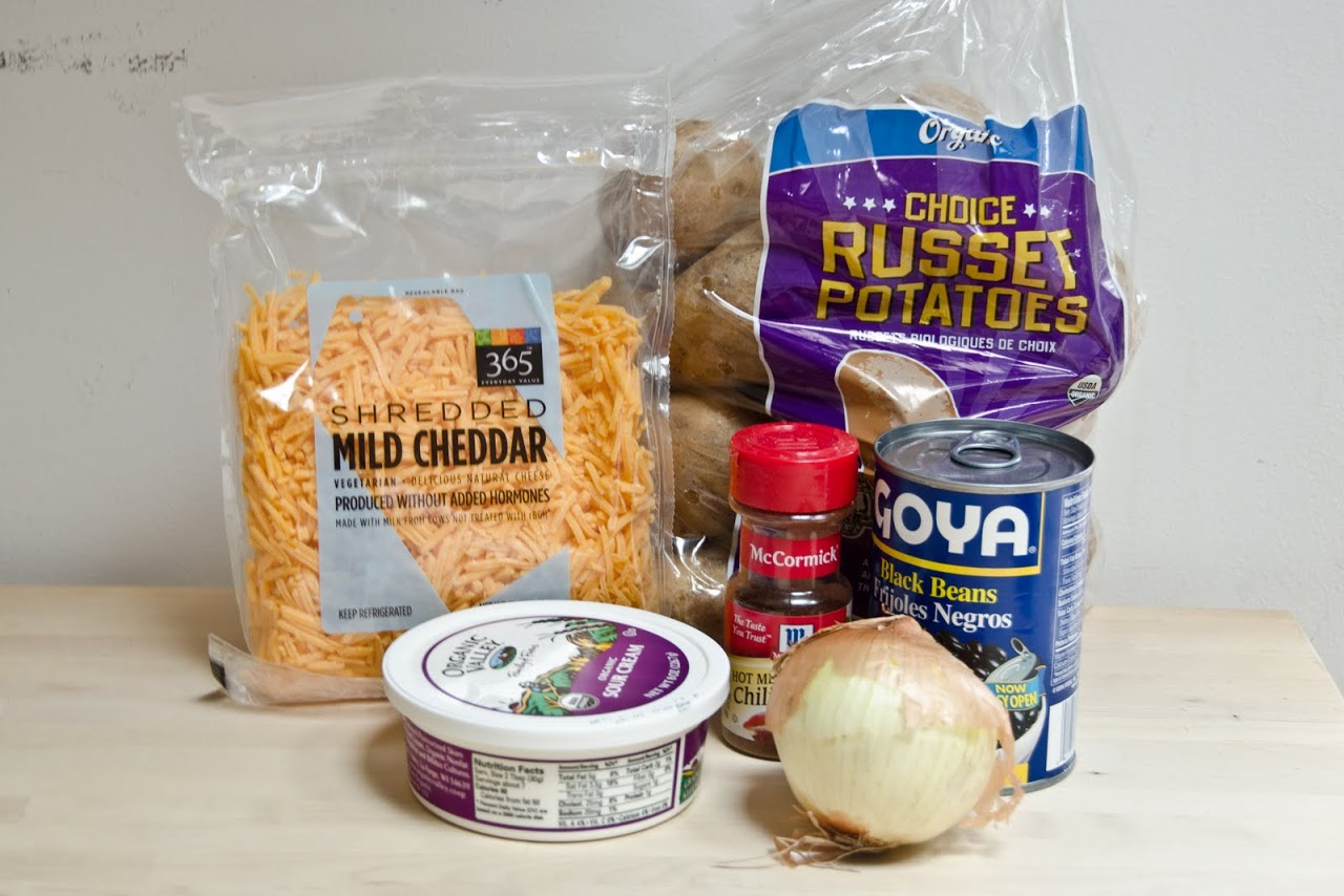 Steelers potato skins ingredients