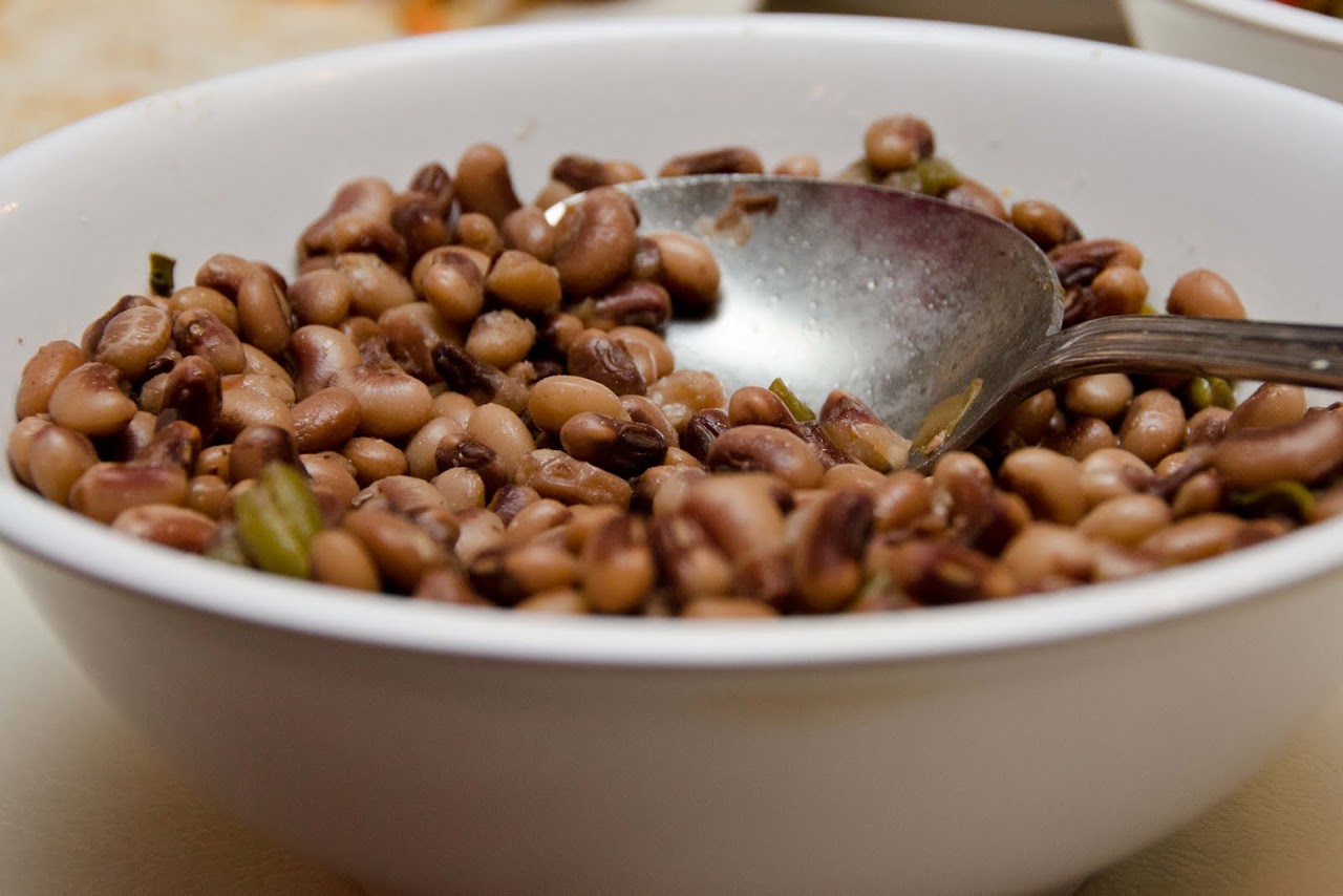 Blackeyed peas at Mrs. Wilkes