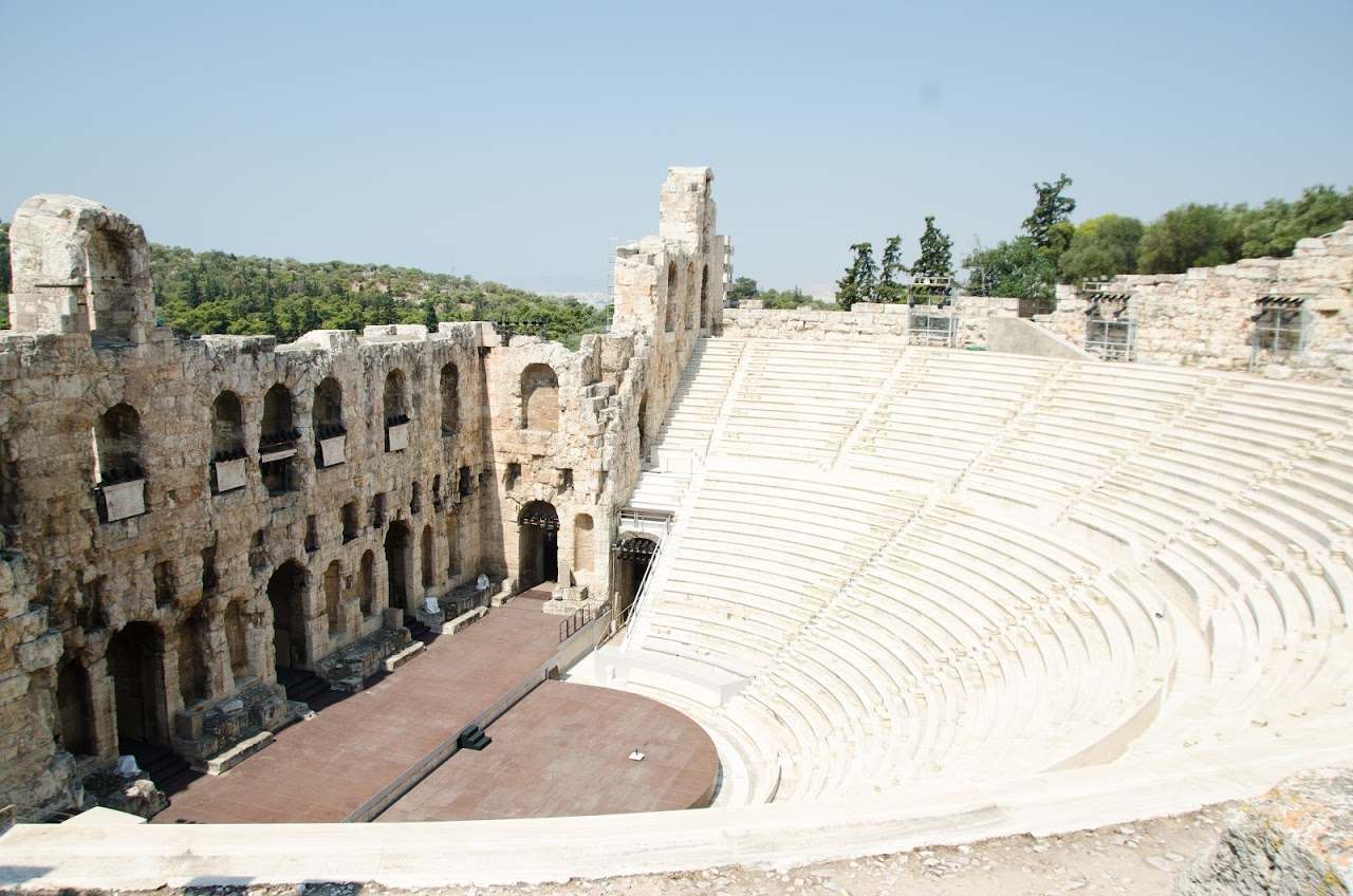 Amphitheatre outside the Acropolis