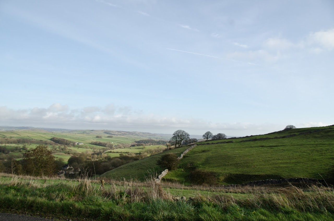 Views from the Peak District