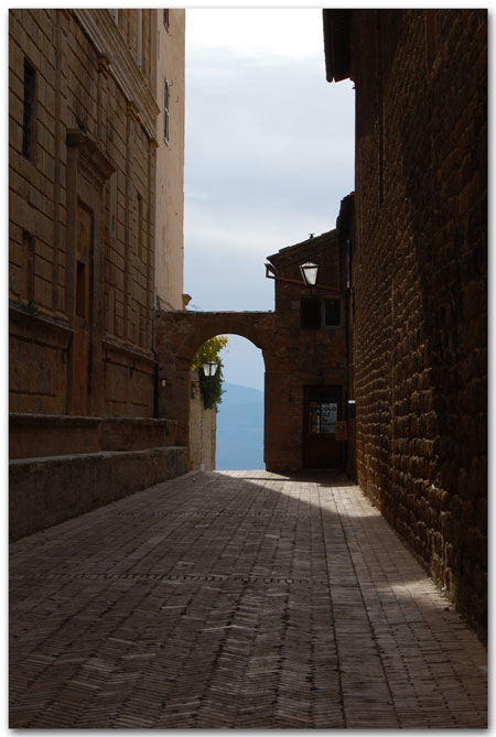 Doorway in Pienza
