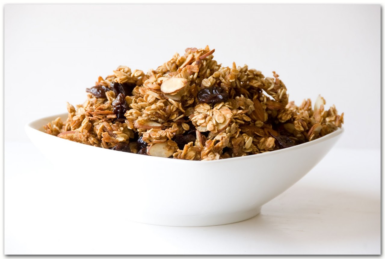 Cooked granola