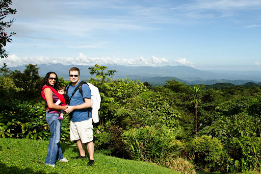 Us at Villa Blanca Cloud Forest