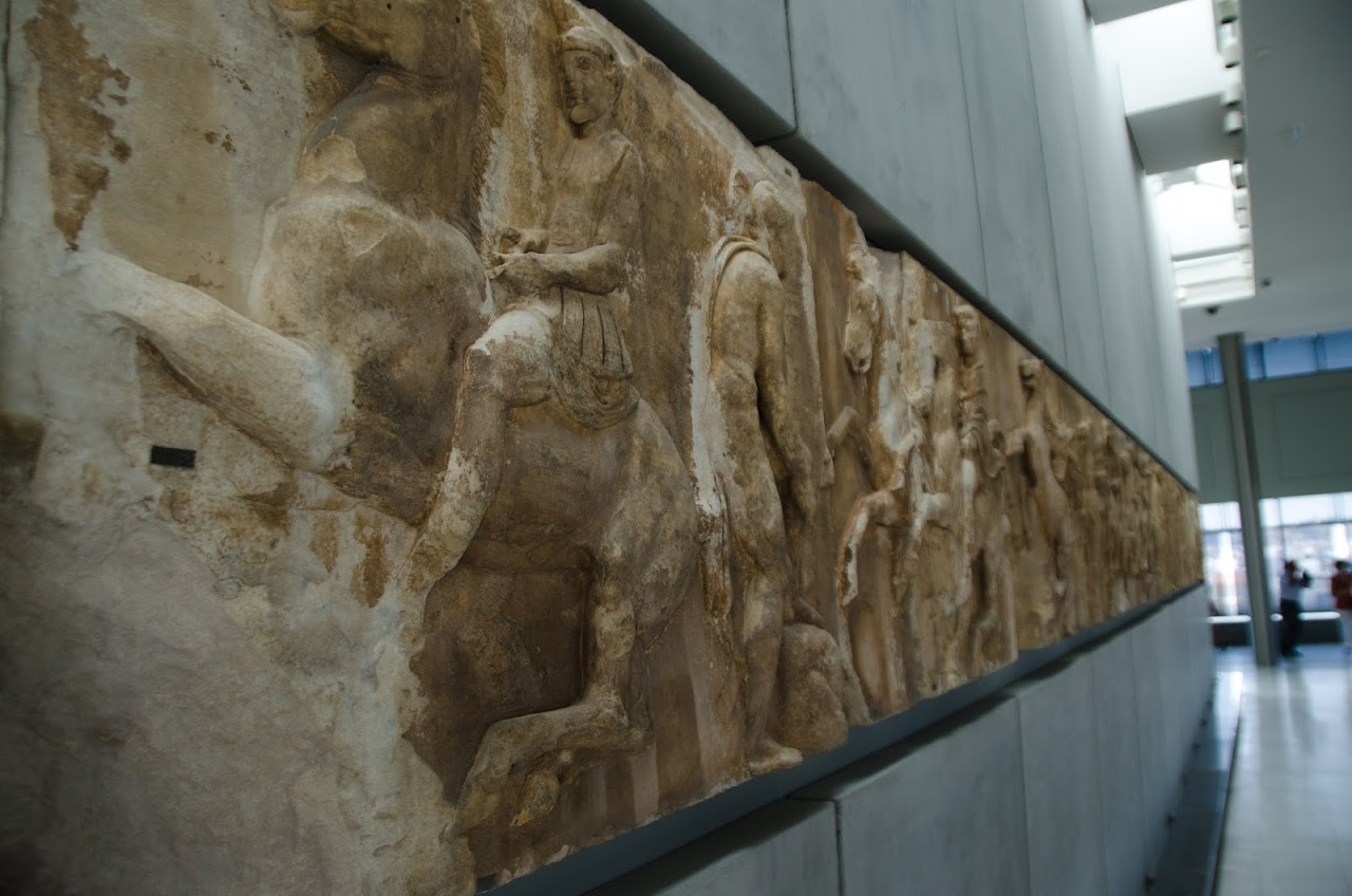 Friezes at Acropolis Museum