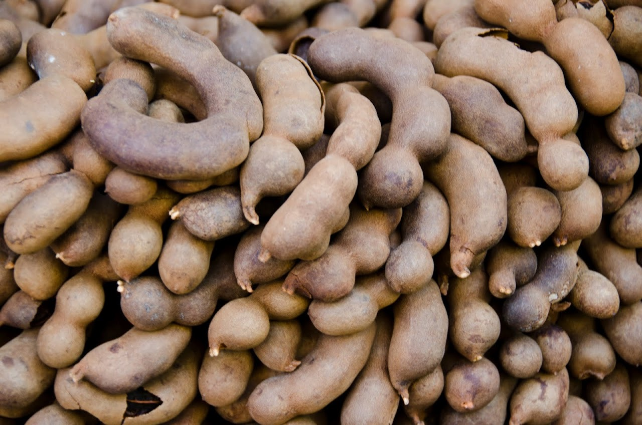 Tamarind at the Kadikoy farmers' market
