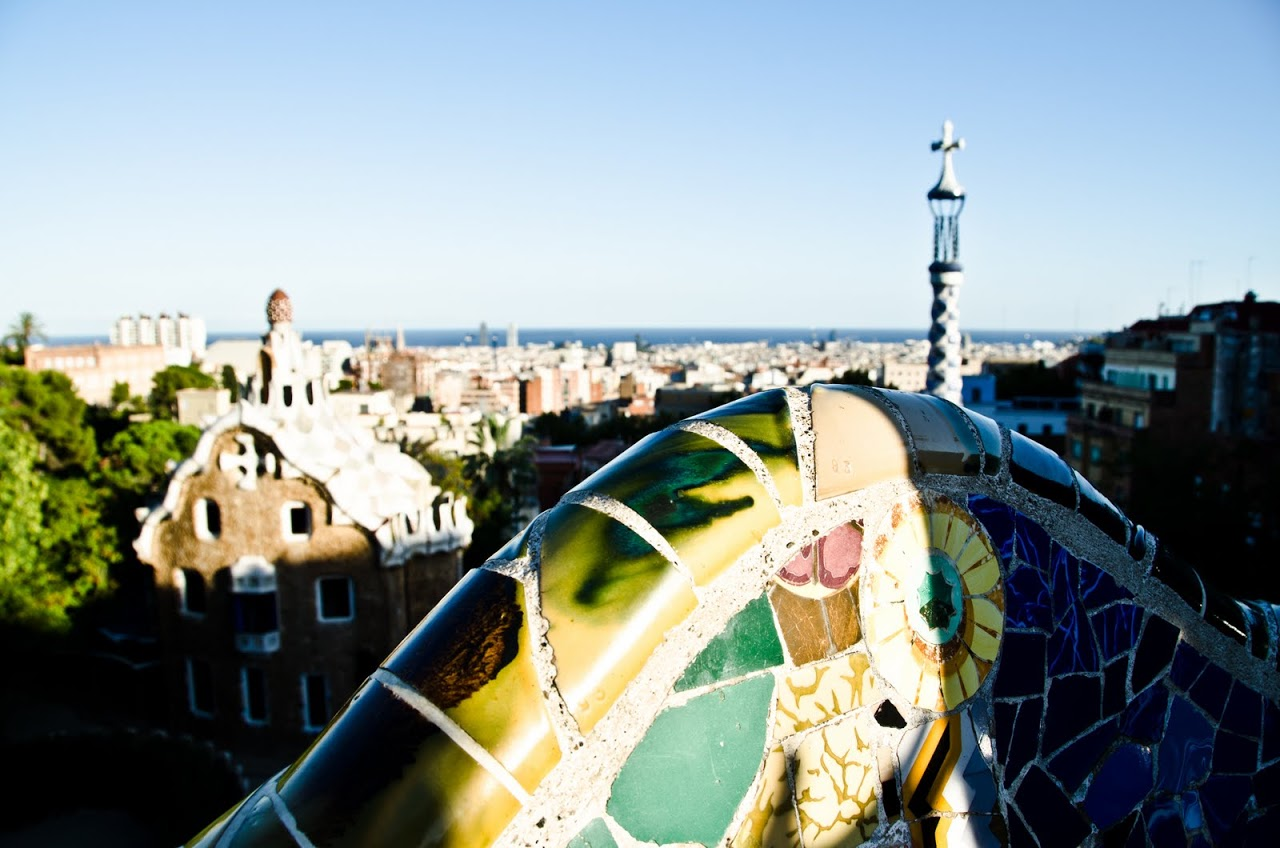 Views from Parc Guell