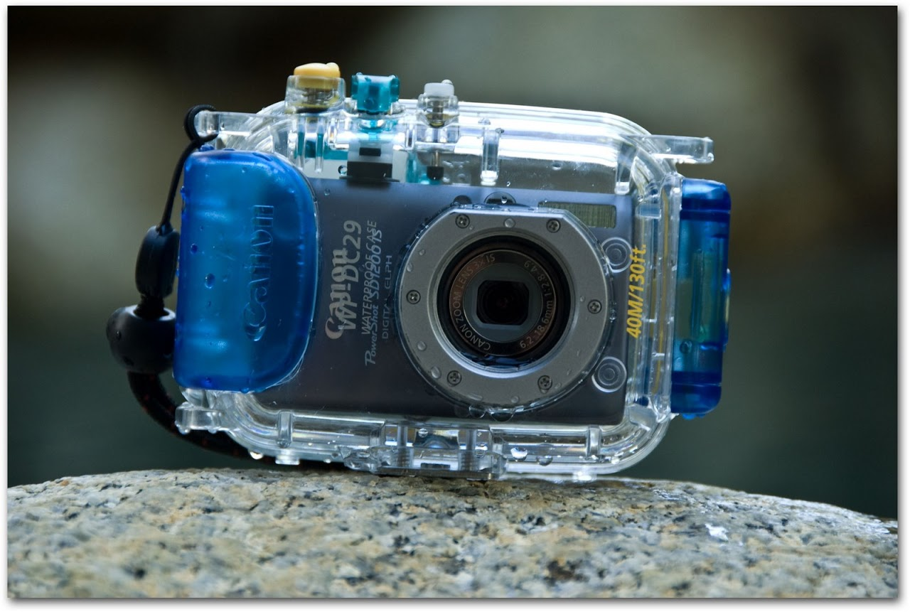 Canon WP-DC29 underwater housing