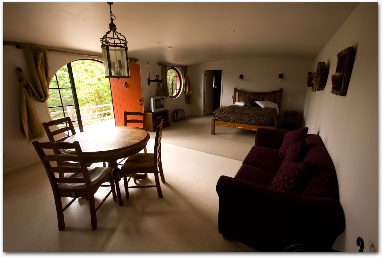 Interior of hobbit motel