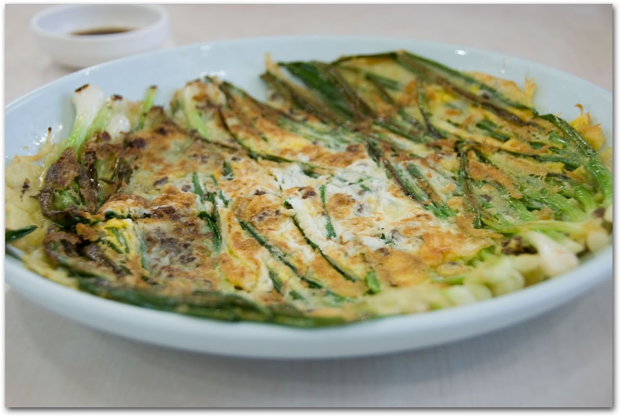 Green onion pancake